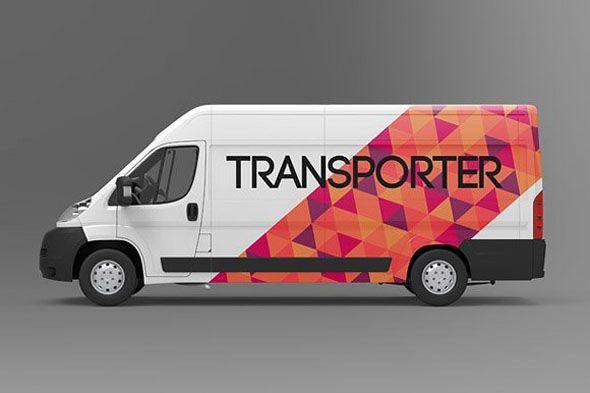 100 Branding Photo Realistic Van Mockups With Images Van