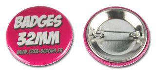 Badges 32mm