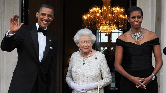 Foreign leaders' salaries: How much do world leaders make? From left, President Barack Obama, Queen Elizabeth and Michelle Obama. IMAGE  (AFP-Getty Images: Jewel Samad)