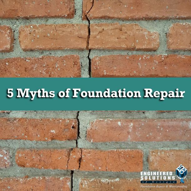25 best home foundation repair images on pinterest foundation familiarize yourself with these common foundationrepair myths so that you can make the right decision foundation repairhome solutioingenieria Gallery
