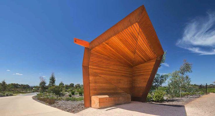 Garden Shelter (Cranbourne 2012)  BKK Architects // photo: John Gollings