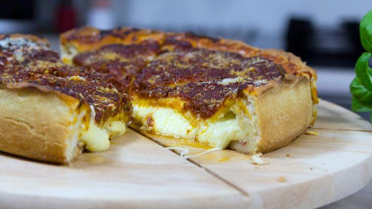 Przepis na pizze Chicago https://www.youtube.com/watch?v=ynUUnVdoCgI