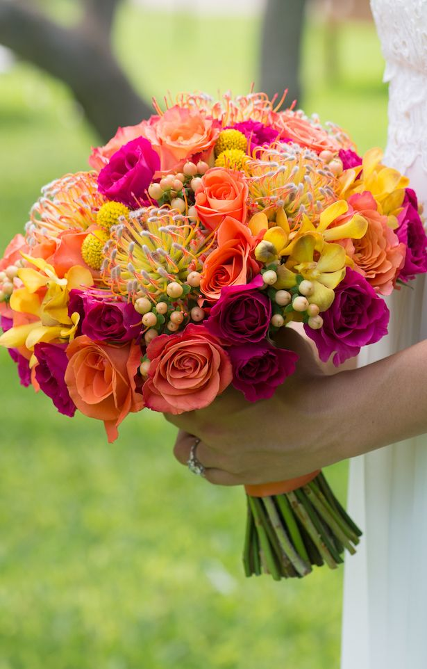 48 best pincushion bouquets images on pinterest bridal for Bouquet of flowers for weddings