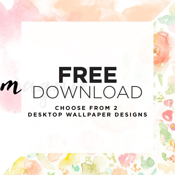 Free Download: September 2015 Wallpaper Designs inspired by magnificent spring flowers.