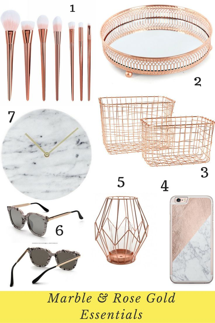 The Top Marble and Rose Gold Ebay Picks