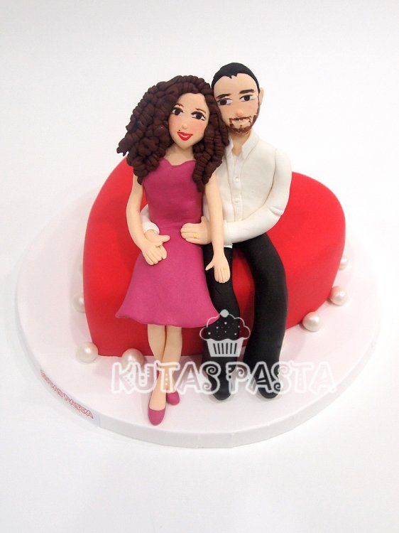 St Valentine's Day Cake - Sevgililer Gününe Özel Pasta