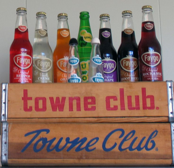 Loved going to the Towne club store as a kid.  My Dad let us each choose 6 bottles of any flavor we wanted.  One of my favorites was red pop (Strawberry).