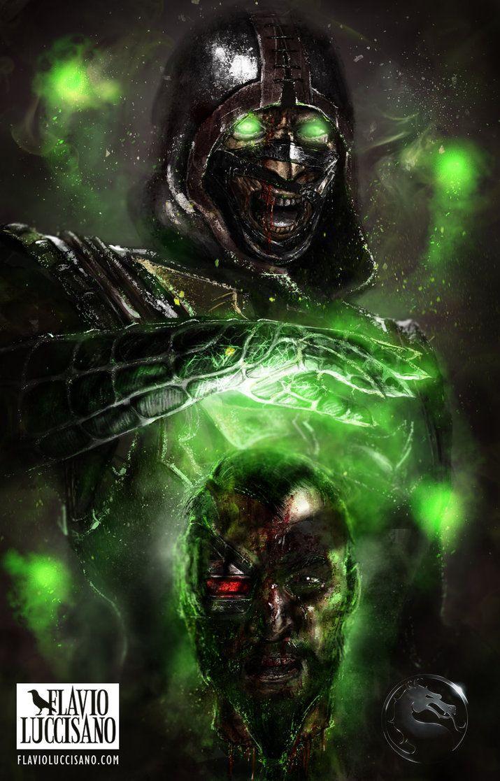 Ermac (Mortal Kombat X) by flavioluccisano on DeviantArt