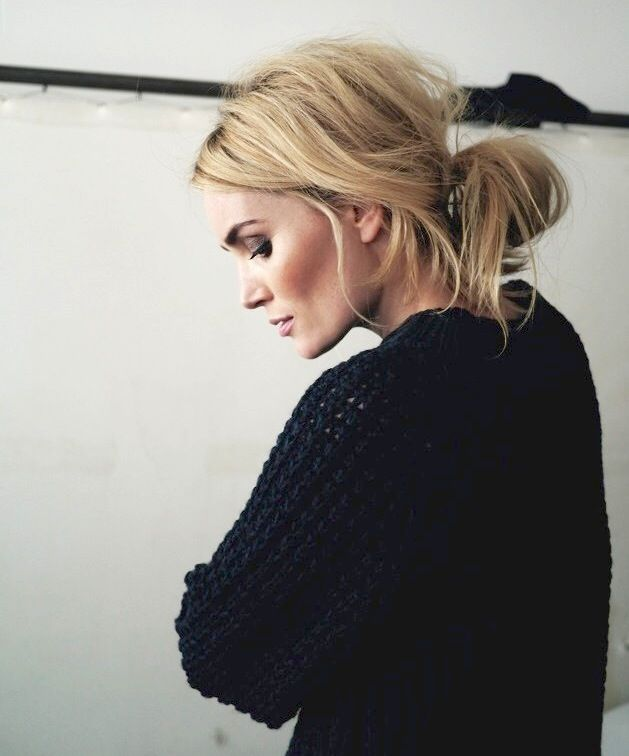 Hair Inspiration: The Low Messy Bun