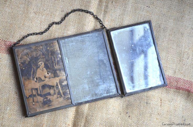 Flea Market Find: Vintage Mirror