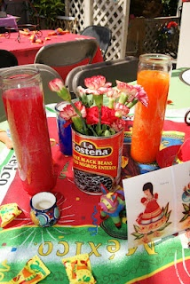 Fiesta. Mexican centerpieces. Mexican Fiesta!