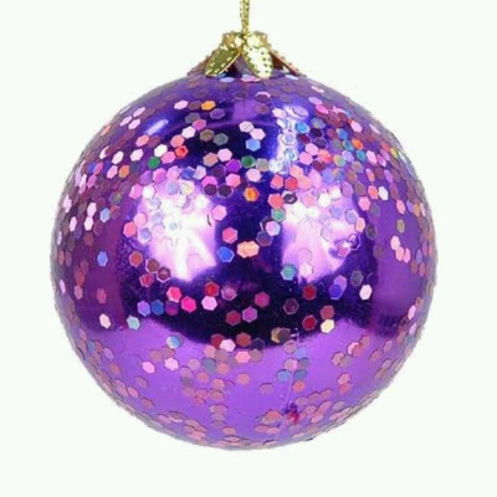 Christmas Decorations In Purple: 17 Best Images About A Purple & Silver Christmas On