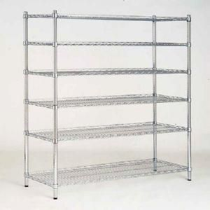 HDX 48 in. W x 72 in. H x 18 in. D Decorative Wire Chrome Finish Commercial Shelving Unit-6T60184872C at The Home Depot