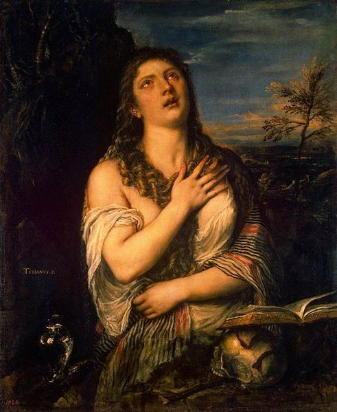 «Кающаяся Мария Магдалина», Тициан