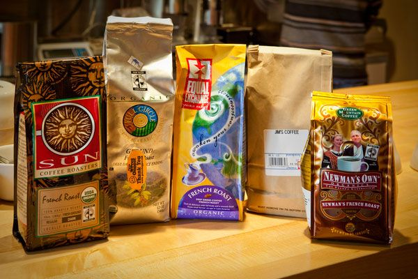 French Coffee Brands | Tasting five organic French roasts leads to buzzkill