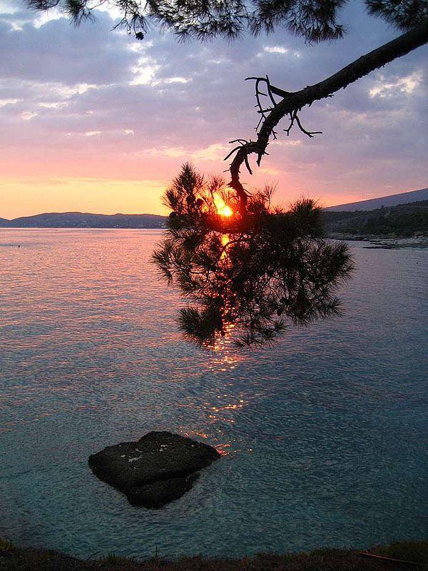 sunset - Thassos, Kavala #Greece