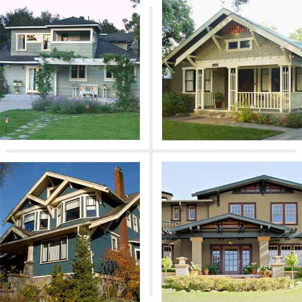 Exterior Paint For Craftsman Style Homes