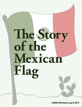 Hispanic Culture Lesson: Story of Mexican Flag (in English). Perfect for sub plans in Spanish class for kids to learn about the story of the flag. Fun for a unit on Mexico, during International Week, or social studies classes.