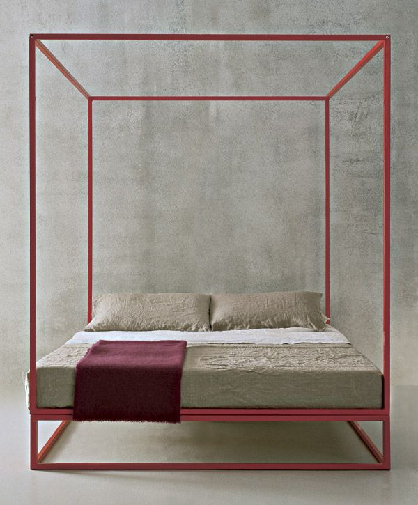 Modern Canopy Bed - Wow, love this!