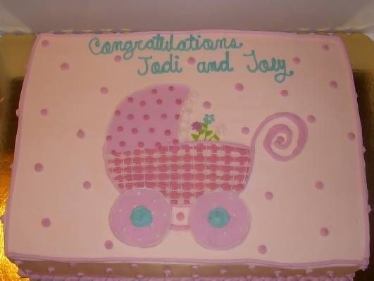 Easy Baby Shower Cake Ideas | cake is from the cake shop in san antonio tx