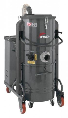 DG30 EXP Drehstrom Industriesauger bei Delfin Industriesauger. Langlebiger Industriesauger für große Mengen an Festkörpern und Stäuben in der Industrie.