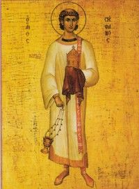 St. Stephen, Dec. 26 First Martyr of the church