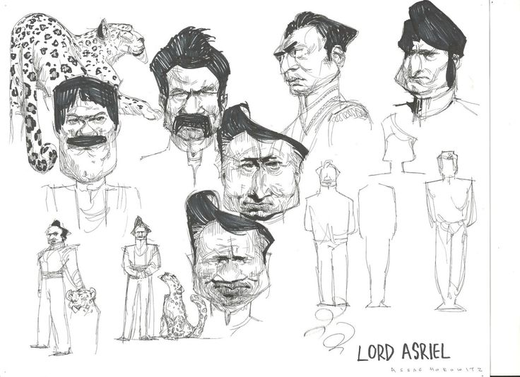 "davidesky2: "" An Indian version of The Golden Compass by Assaf Horowitz, via Character Design Page. """
