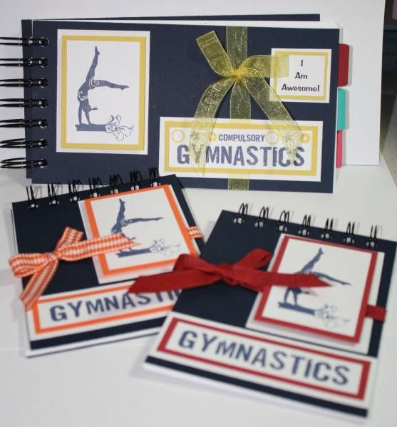 Gymnastics Score Books by MegSnider - Cards and Paper Crafts at Splitcoaststampers