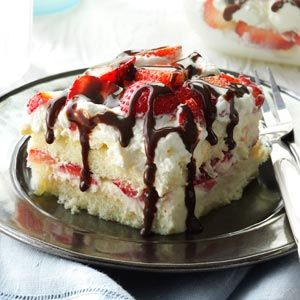 White Chocolate-Strawberry Tiramisu Recipe from Taste of Home