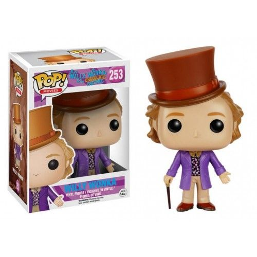 Funko Willy Wonka, Willy Wonka & the Chocolate Factory, A Fantástica Fábrica de Chocolate, Filme, Funkomania
