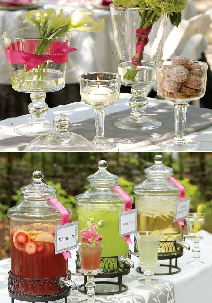 248 best backyard diy bbq casual wedding inspiration images on pinterest marriage food buffet - Table de jardin walmart argenteuil ...