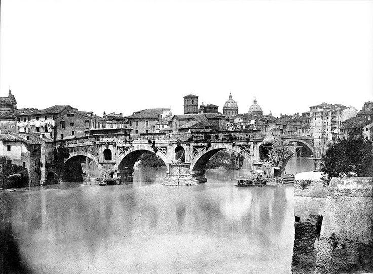 Ponte Rotto 1851 - Rome