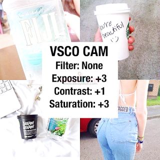 Part 1: 84 of the BEST Instagram VSCO Filter Hacks - Top Beauty and Lifestyle Blog on Makeup, Skincare, Tech, Fitness, Fashion, Food, Travel