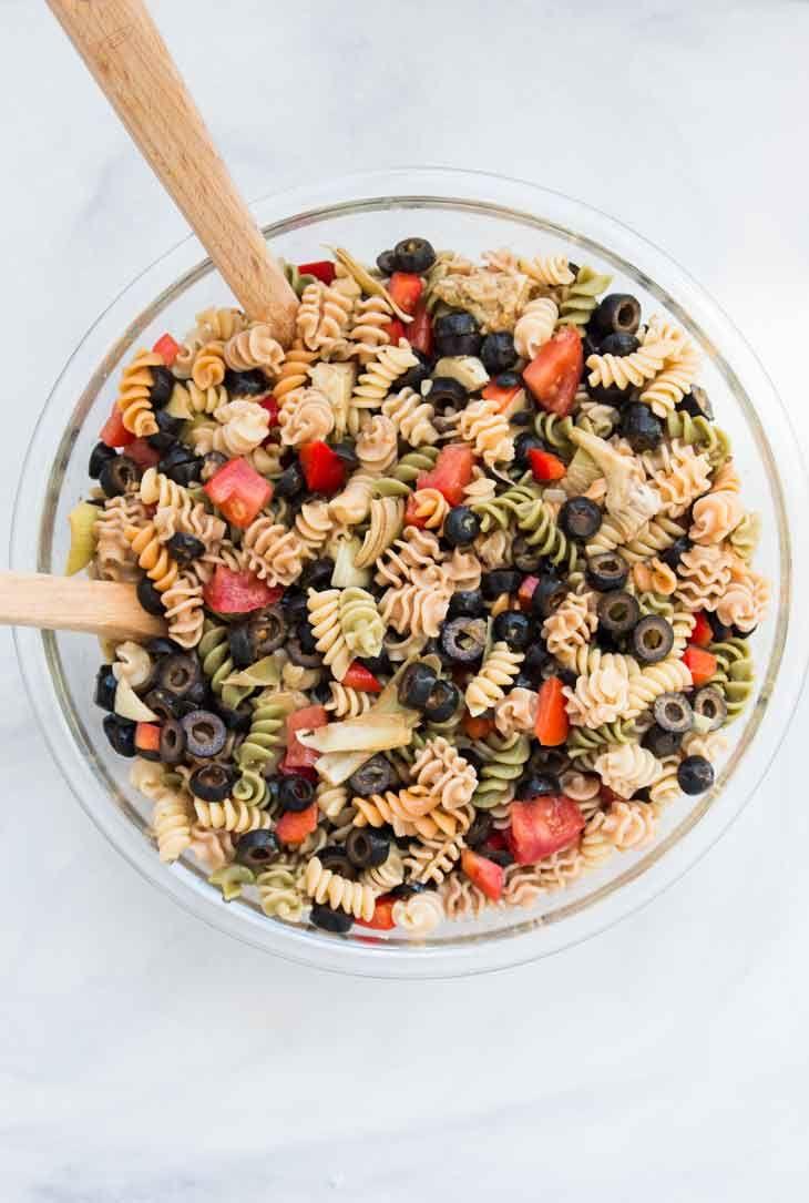 Vegan Italian Recipes Uk Pasta Salad Italian Easy Pasta Salad Italian Pasta Salad Recipe