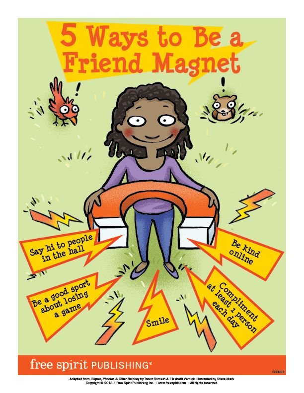 Free Classroom Poster Help Kids Learn To Make Friends With 5 Ways