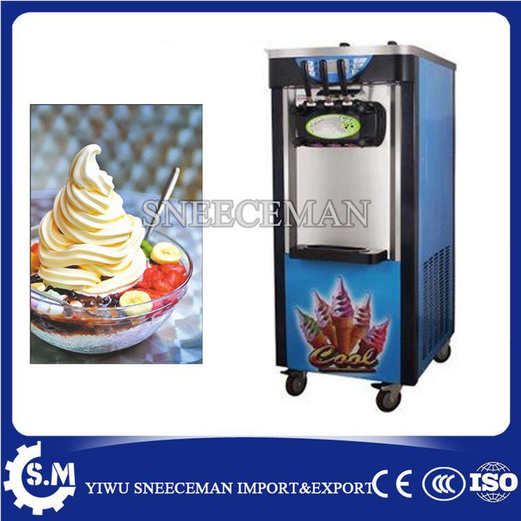 30-36L/H vertical Soft ice cream machine maker for business use commercial soft ice cream making vending machine