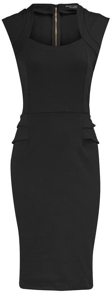 Dorothy Perkins. I love this dress and think it would be really cute with a little belted cardigan.