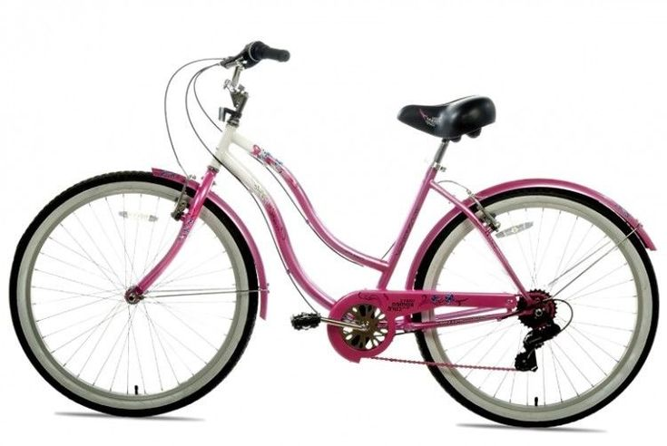 "Women Beach Cruiser Bicycle 7 Speed Hybrid Saddle Seat Rear Coaster Brake 26""  #SUSANGKOMEN"