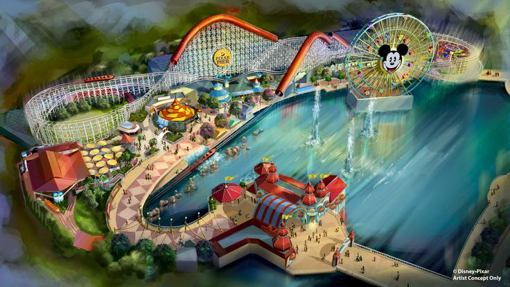 Summer 2018 will bring a transformed land for guests to experience at Disney California Adventure park when Pixar Pier opens along the southern shore of Paradise Bay, with newly themed attractions, foods and merchandise throughout. This new,