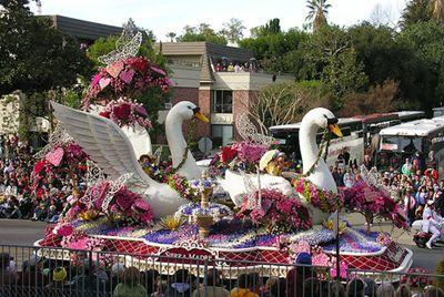 Go to the Tournament of Roses Parade in Pasadena, CA