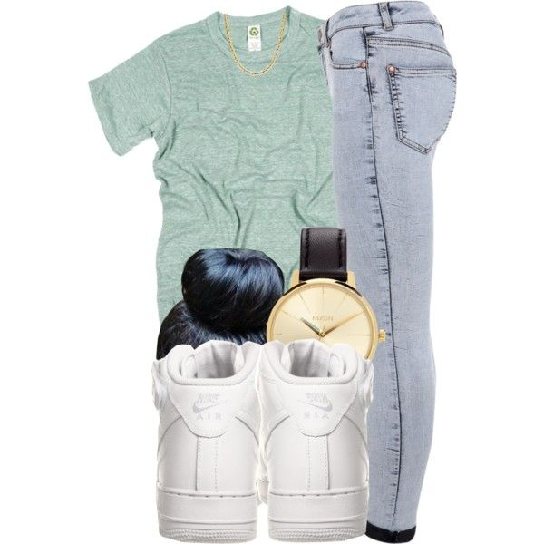 6 12 14 by rabruquel on Polyvore featuring Miss Selfridge, NIKE and Nixon