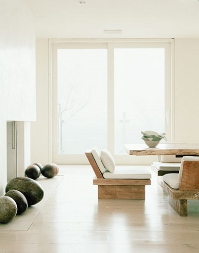 Perfect Zen Dining Room...possible Donna Karanu0027s?