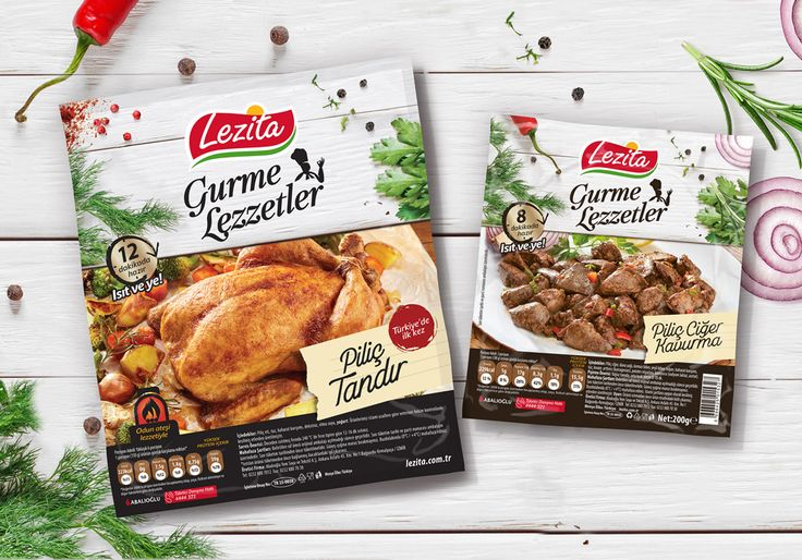 #packaging #design for #lezita gourmet series precooked meals by Orhan Irmak Tasarım | Creative Packaging & Design