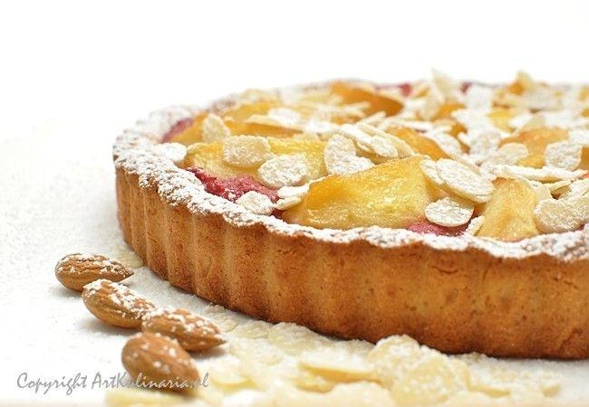 Tarta z rabarbarem i karmelizowanymi jabłkami / Rhubarb apple tart
