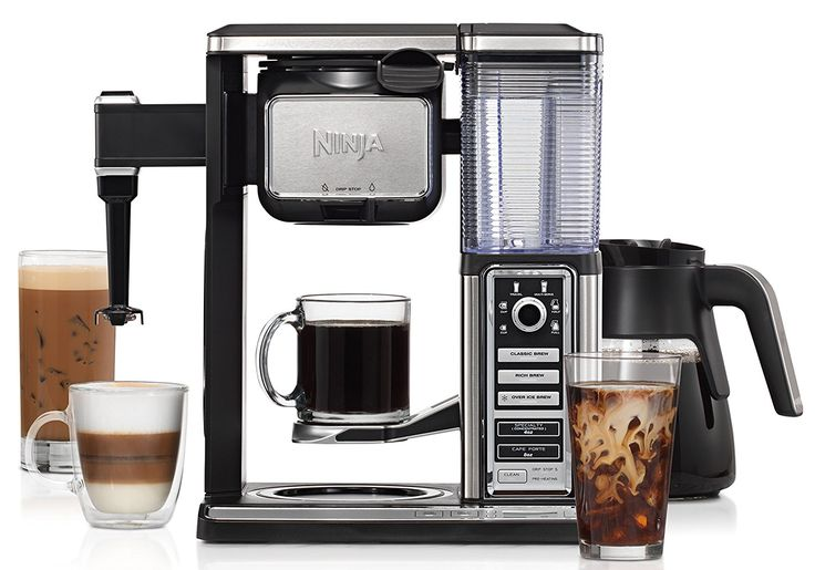 Ninja Coffee Bar Glass Carafe System (CF092) The next-generation Ninja Coffee Bar is a single serve and glass carafe coffee system-complete with a built-in frother with hot and cold frothing capabilities, a host of delicious coffee recipes you can create and enjoy, all from the comfort of home and it comes with the Ninja XL Hot & Cold Multi-Serve Tumbler for hot or iced coffee-big enough for you, or brew for two. #ad #holidaygiftguide #hgg @ninjakitchen