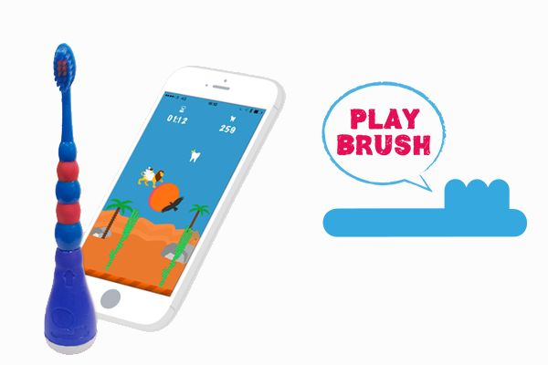 [Connected Object of the week] When brushing teeth becomes a child's play ! #playbrush #newtech #connectedobject #kids #ctband