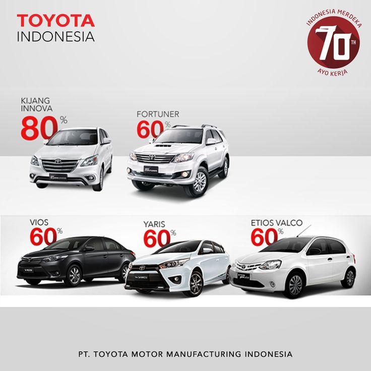 Toyota Indonesia terus meningkatkan rasio kandungan lokal mobil yang dihasilkan maupun pada produk-produk lainnya. Ada 5 jenis mobil yang diproduksi secara lokal dan mengggunakan komponen lokal, diantaranya Kijang Innova menggunakan 80 persen kandungan lokal, Fortuner 60 persen, Vios 60 persen, Etios Valco 60 persen dan Yaris 60 persen #TMMIN #ToyotaIndonesia