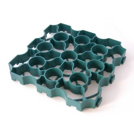 Green X-Grid® Gravel Reinforcement Grid Green Panel can be used for grass