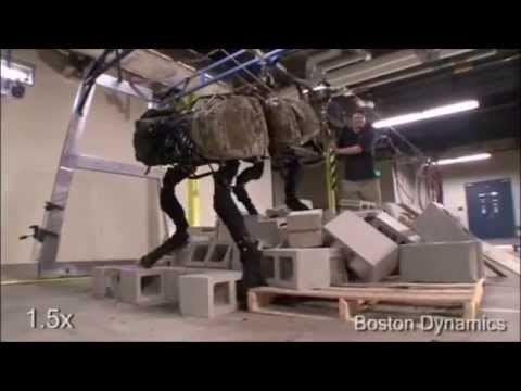 Boston Dynamics All Prototypes - YouTube