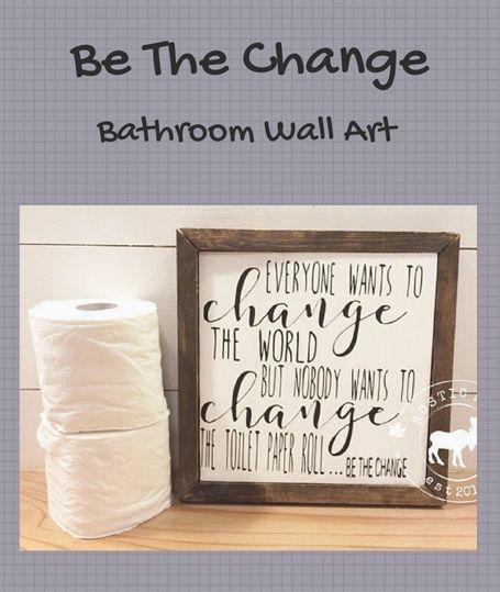 bathroom wood sign funny bathroom wall art toilet paper roll rh pinterest com